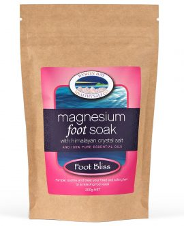 Foot Bliss Magnesium Foot Soak With Himalayan Crystal Salt