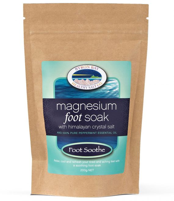 Foot Soothe Magnesium Foot Soak With Himalayan Crystal Salt