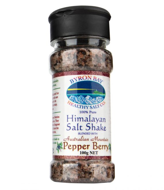 Himalayan Salt Shake Blended With Australian Mountain Pepper Berry